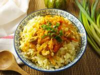 南瓜高麗菜飯~電鍋版