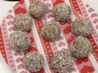 【免烤箱】四種食材巧克力雪球