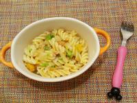 寶寶副食:奶香南瓜螺旋麵