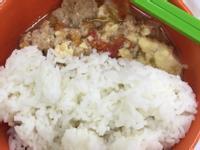 番茄豆腐肉碎泡飯