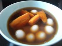 暖暖薑汁番薯小湯圓