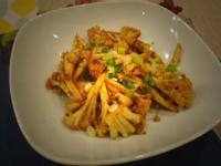 花生醬烤白花菜