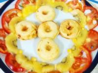 柚香蝦子甜甜圈-健康廚房