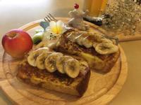 【早安麵包機の練習曲】烤香蕉蔗糖吐司
