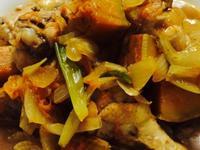 懶人南瓜洋蔥燒雞
