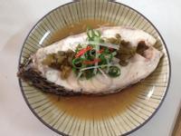 清蒸剝皮辣椒魚