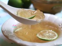 蜂蜜檸檬手洗愛玉