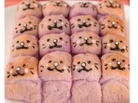 【Tomiz小食堂】貓咪紫薯手撕麵包