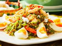 宮廷酸甜楊桃豆鮮蝦沙拉