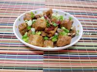 紅燒排骨油豆腐
