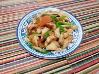 沙茶醬炒杏鮑菇
