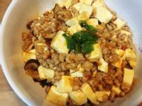 麻婆豆腐蓋飯