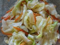 微波爐版清炒高麗菜