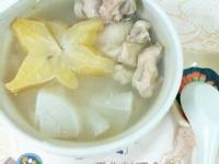 金酒楊桃燉雞湯-38度金門高梁酒