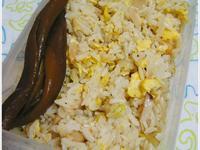 蛋炒飯便當・香菇炒杏鮑菇佐娃娃菜