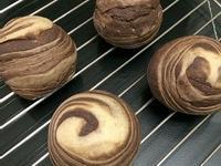 月餅黑白配-烏豆沙麻糬酥