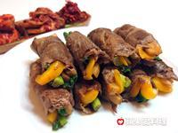 蔬果豬肉捲-中秋烤肉必學