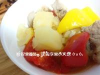 彩椒馬鈴薯燉肉 懶人煮法,一樣好吃