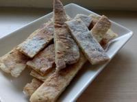 ❤低卡料理❤簡易健康脆脆微波鹹味薄片餅乾