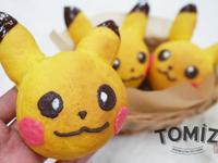 【Tomiz小食堂】寶可夢皮卡丘南瓜麵包