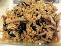 香菇豬肉絲油飯