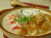 港式海鮮煲粥