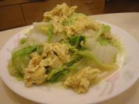 力力隨意煮-大白菜炒蛋