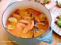 蕃茄海鮮湯-番茄控的最愛
