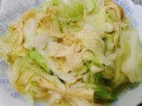 豆皮炒高麗菜