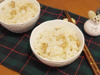 零技巧「貝柱炊飯」電鍋完成好鮮味 ♡