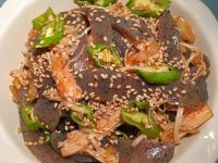 韓式泡菜辣拌蒟蒻金針菇