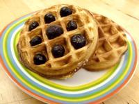 《無糖低醣》椰子麵粉格子鬆餅