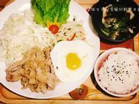 韓國烤肉飯【輕輕鬆鬆零廚藝】