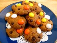 《萬聖節》MM巧克力美式軟餅乾~不用模具