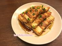 燒汁豬腩片豆腐卷