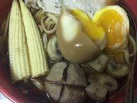醬油雞蛋麵