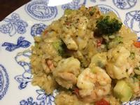 海鮮青醬燉飯(ㄧ鍋到底)