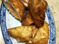 藍帶起士豬排&蜂蜜芥末醬