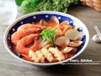 韓式三鮮炒碼麵