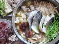 薑片鱸魚鮮菇火鍋【統一生機】