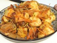 干貝醬蔬菜炒饅頭