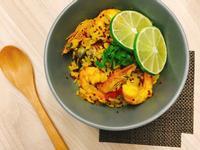 懶人西班牙海鮮藜麥燉飯