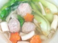 高麗菜肉丸子湯