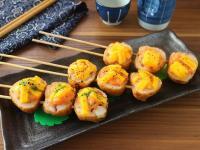 起司海味沙拉串燒  小七食堂