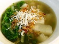 冬菜蘿蔔糕湯