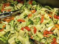 素菜-蒜香紅椒蘭花菜