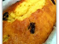 葡萄乾奶油磅蛋糕