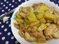10分鐘上菜─鳳梨炒雞片