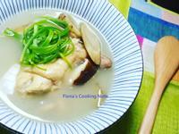 牛蒡鮮菇雞湯~雞湯清澈秘訣