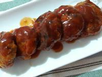 茄汁蔬菜豆腐烤肉餅